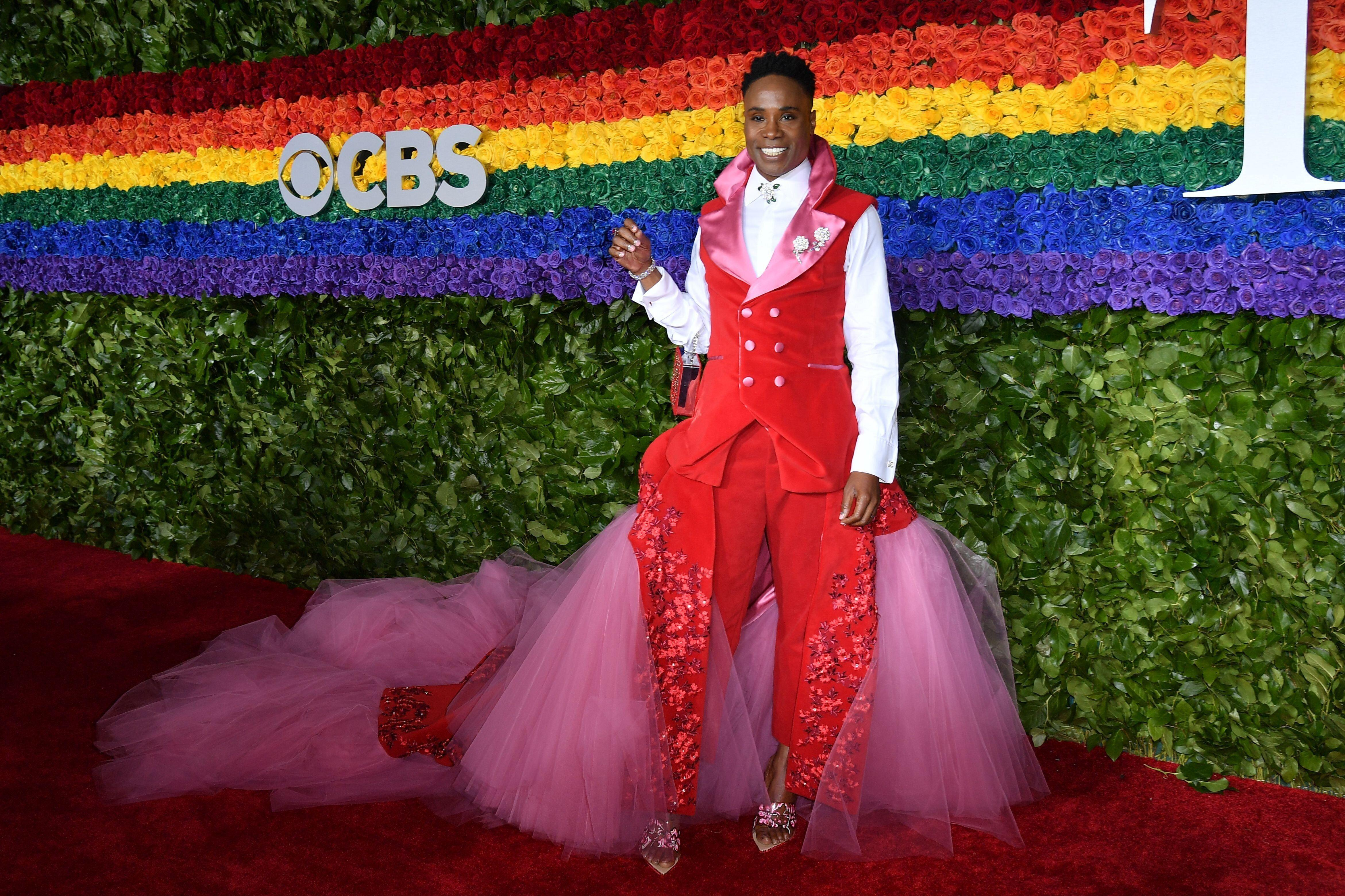 US actor Billy Porter attends the 73rd Annual Tony Awards at Radio City Music Hall on June 9, 2019 in New York City. (Photo by Angela Weiss / AFP) (Photo credit should read ANGELA WEISS/AFP/Getty Images)