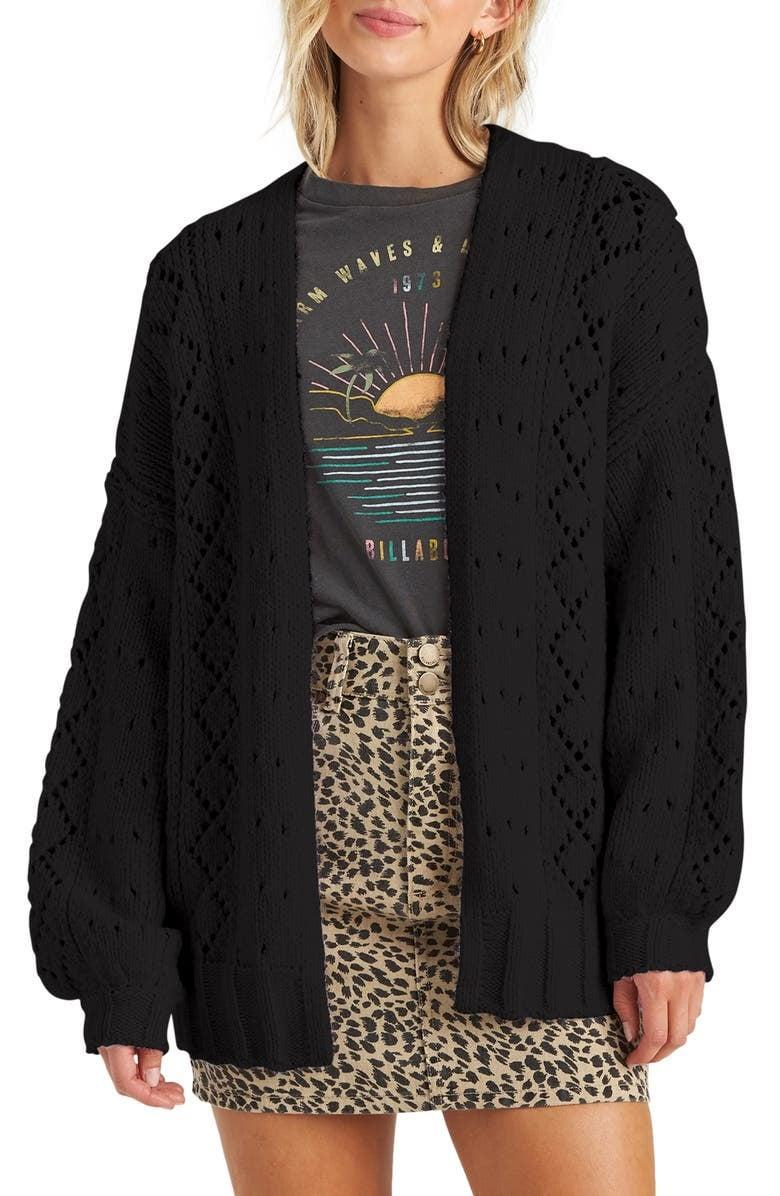 <p><span>Blissed Out Pointelle Cardigan</span> ($48, originally $80)</p>