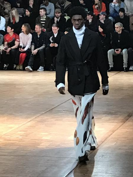 The 2020 fall-winter Off-White show for the Paris Men's Fashion Week