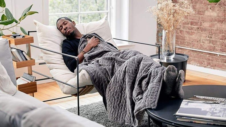 This incredible weighted blanket was at its lowest price ever for Black Friday.