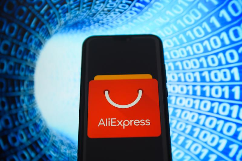 O site AliExpress vai trazer a Black Friday chinesa para o Brasil no dia 11 de novembro Omar Marques/SOPA Images/LightRocket via Getty Images)