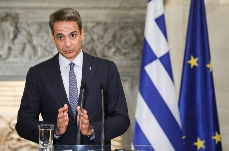 Greek PM says concerned by extension of Turkish drill ship operations off Cyprus