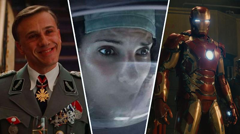 Inglourious Basterds, Gravity, Avengers: Age of Ultron.