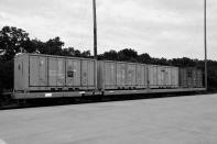 A photo illustration of a rail car from which armor-piercing grenades were stolen. The theft was discovered after the train arrived at the Letterkenny Army Depot in central Pennsylvania in July 2017. Investigators determined that an ammunition canister containing 32 rounds of 40mm M430A1 grenades, property of the U.S. Marine Corps, was missing. (AP Illustration)