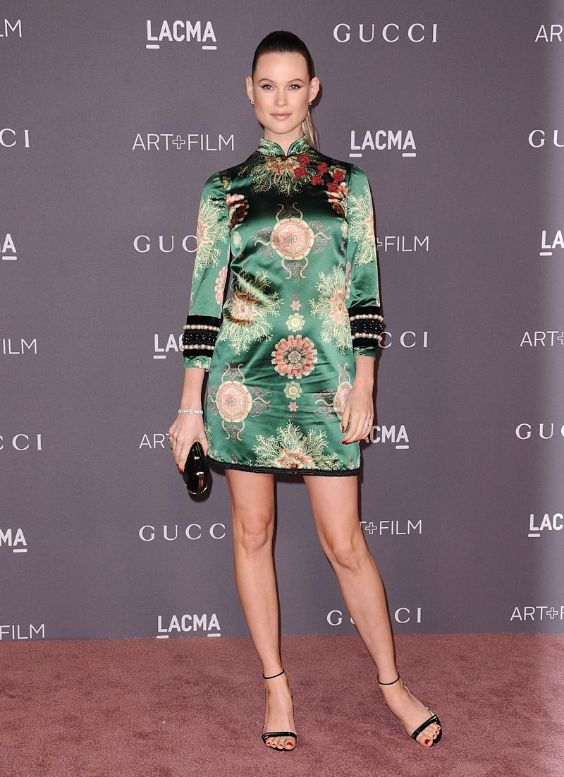 Behati Prinsloo at the LACMA Art + Film Gala