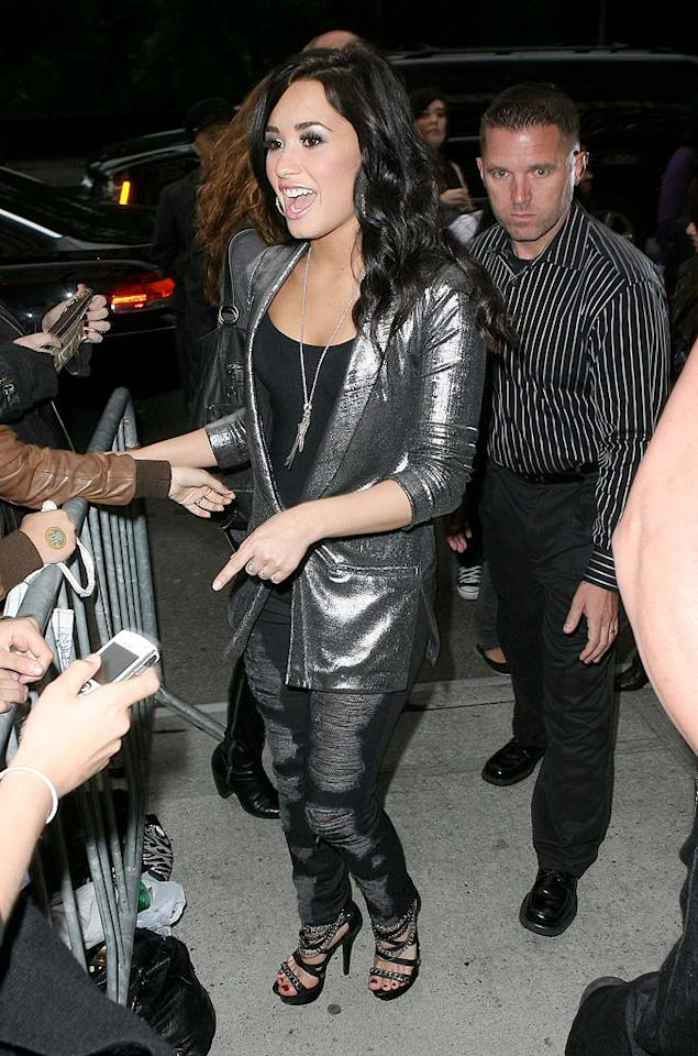 """According to E!, after Demi Lovato had a fight with a backup dancer in the Peru airport while on tour, """"The [Jonas Brothers'] dad basically said right there, 'That's it. You're going home.'"""" E! also reports Lovato """"made verbal threats to Joe's new squeeze, Ashley Greene, who was at the airport as well."""" For the full scoop on what went down, click over to <a href=""""http://www.gossipcop.com/demi-lovato-mental-emotional-physical-issues-fight-dancer-rehab-jonas-ashley-greene/"""" target=""""new"""">Gossip Cop</a>. T/<a href=""""http://www.x17online.com"""" target=""""new"""">X17 Online</a> - May 19, 2010"""