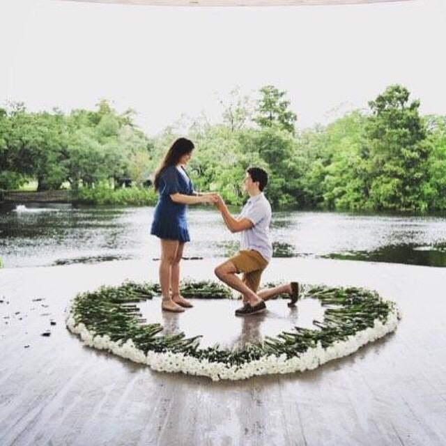 hurricane couple engagement proposal