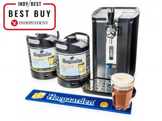 Enjoy mouth-watering pints on tap at home with your own beer dispenser (The Independent)