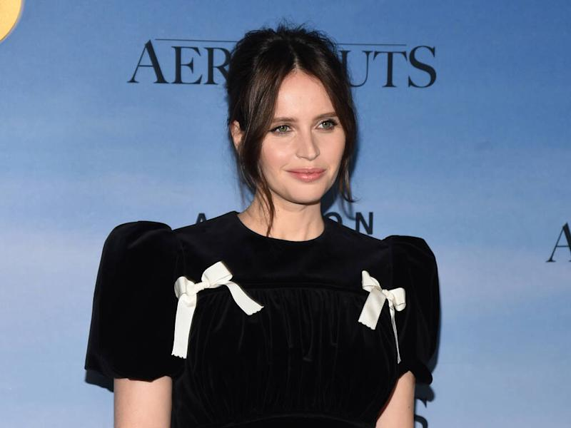 Felicity Jones: 'Headbands are the ultimate accessory'