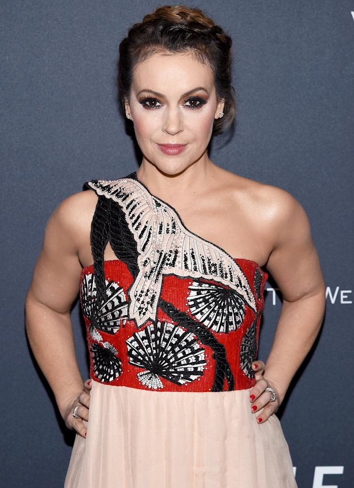 "The actress revealed that she <a href=""https://people.com/health/alyssa-milano-two-abortions-1993/"">chose to have two abortions</a> more than 25 years ago on the latest episode of her podcast, <a href=""https://podcasts.apple.com/us/podcast/alyssa-milano-sorry-not-sorry/id1460720864?app=podcasts&linkId=66724973&ign-itsct=podcast_catchall&ign-itscg=10703""><i>Alyssa Milano: Sorry Not Sorry</i></a>.  Milano shared her personal experience with abortion — which she says happened twice in 1993, within months of one another, when she was in her early 20s.  ""I knew at that time, I was not equipped to be a mother, and so I chose to have an abortion,"" said Milano. ""<em>I</em> chose. It was <em>my </em>choice. And it was absolutely the right choice for me.""  ""It was not an easy choice,"" she continued. ""It was not something I wanted, but it was something that I needed, like most health care is.""  The now-mother of two has not only spoken out about the <a href=""https://people.com/politics/anti-abortion-laws-what-to-know/"">restrictive abortion laws</a> that were recently passed by legislators, but has also fought against the bills by <a href=""https://people.com/politics/alyssa-milano-sex-strike-georgia-abortion-law/"">calling for women to go on a sex strike</a>."