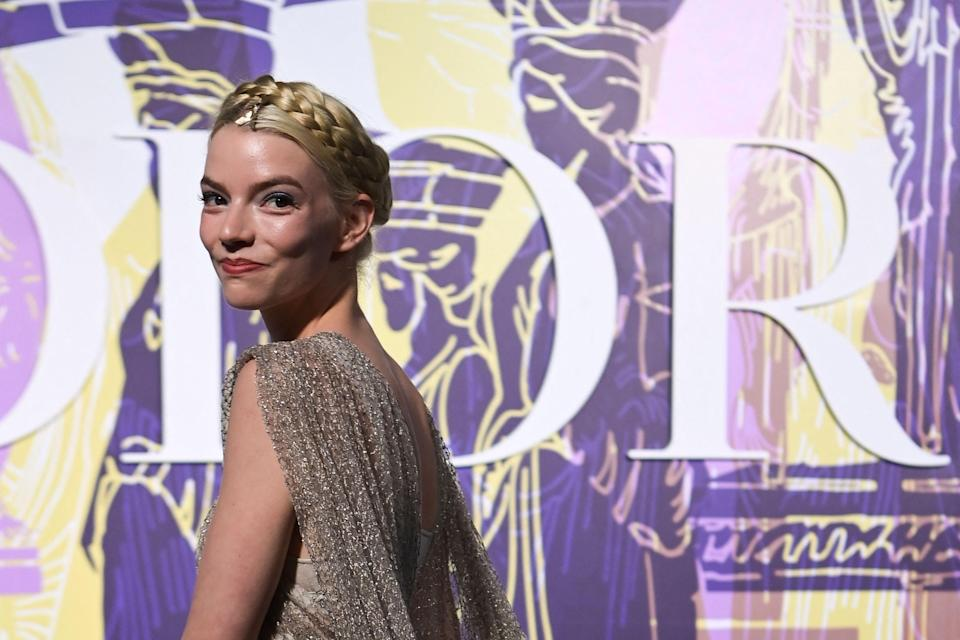 """<p>We don't like to pick favourites, but <a href=""""https://www.elle.com/uk/beauty/a30806594/anya-taylor-joy-beauty-interview/"""" rel=""""nofollow noopener"""" target=""""_blank"""" data-ylk=""""slk:Anya Taylor-Joy"""" class=""""link rapid-noclick-resp"""">Anya Taylor-Joy</a> (alongside her stylist, or <a href=""""https://www.instagram.com/luxurylaw/"""" rel=""""nofollow noopener"""" target=""""_blank"""" data-ylk=""""slk:'Image Architect' Law Roach"""" class=""""link rapid-noclick-resp"""">'Image Architect' Law Roach</a>) has proven herself to be a keen contender for <a href=""""https://www.elle.com/uk/awards-season-best-fashion-makeup-hair/"""" rel=""""nofollow noopener"""" target=""""_blank"""" data-ylk=""""slk:2021's Award Season's"""" class=""""link rapid-noclick-resp"""">2021's Award Season's</a> MVP. </p><p>From her custom-made Dior dresses for both the <a href=""""https://www.elle.com/uk/fashion/celebrity-style/g30492337/critics-choice-awards-best-red-carpet-looks/"""" rel=""""nofollow noopener"""" target=""""_blank"""" data-ylk=""""slk:Critic's Choice Awards"""" class=""""link rapid-noclick-resp"""">Critic's Choice Awards</a> and the <a href=""""https://www.elle.com/uk/fashion/g25746956/golden-globes-best-red-carpet-looks/"""" rel=""""nofollow noopener"""" target=""""_blank"""" data-ylk=""""slk:Golden Globes"""" class=""""link rapid-noclick-resp"""">Golden Globes</a>, to her Vera Wang gown at the SAG awards, the 24-year-old is knocking it out of the sartorial park this year.</p><p>But, it isn't just 2021 that the Emma, <a href=""""https://www.elle.com/uk/life-and-culture/culture/a34643247/queens-gambit-anya-taylor-joy/"""" rel=""""nofollow noopener"""" target=""""_blank"""" data-ylk=""""slk:The Queen's Gambit"""" class=""""link rapid-noclick-resp"""">The Queen's Gambit</a> and The Witch star has shown herself more than capable in the style stakes, since the American-Argentinian-British actor has been rocking the like of Gucci, Halpern, The Vampire's Wife and Halpern for years. </p><p>So, in honour of the queen of the virtual red carpet, here are <strong>29 of Anya Taylor-Joy's best outfits</strong>...</p>"""