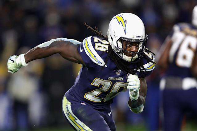 Melvin Gordon is reportedly ending his holdout with the Chargers. (Getty)