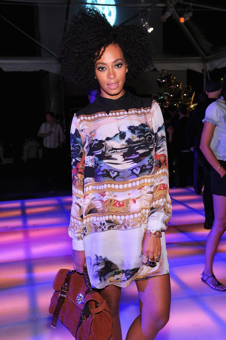 <p>Named for Alexa Chung, Mulberry's Alexa bag, which launched in 2010, was just as stylish as the model who inspired it. Its signature double-buckle feature on the front and versatile straps made it *the* bag to wear—even Solange got in on the craze.</p>