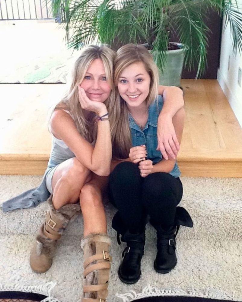 Heather Locklear and daughter Ava
