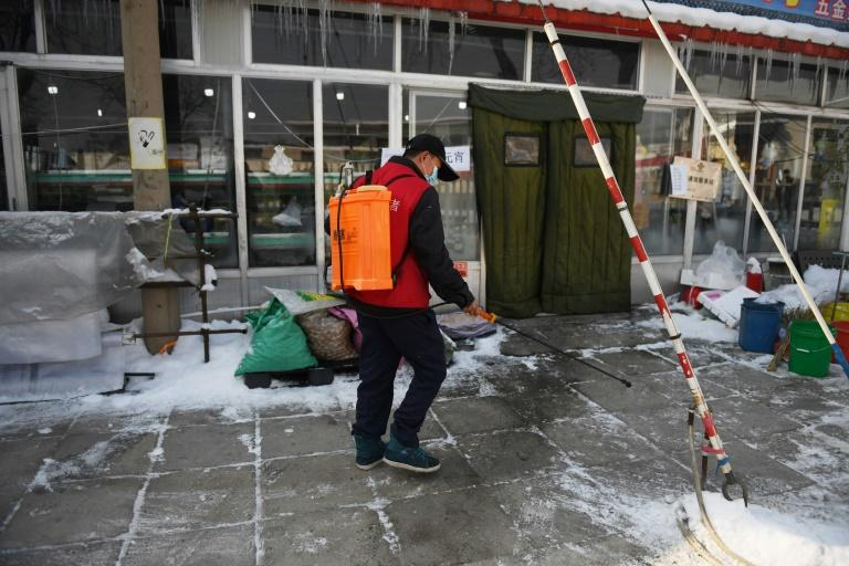 In villages near Beijing people are going to great lengths to keep themselves coronavirus-free