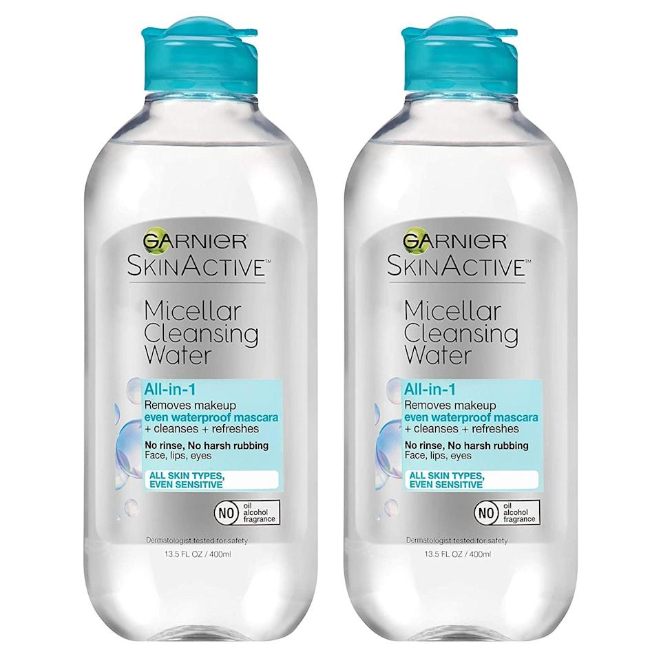 <p><span>Garnier SkinActive Micellar Cleansing Water</span> ($9, originally $14)</p>