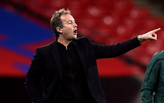 Denmark manager Kasper Hjulmand knows his team faces an uphill task