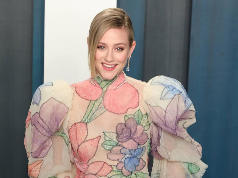 Lili Reinhart watched YouTube tutorials to learn special effects make-up