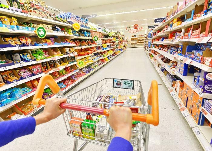 Time your supermarket shop (Image:Shutterstock)