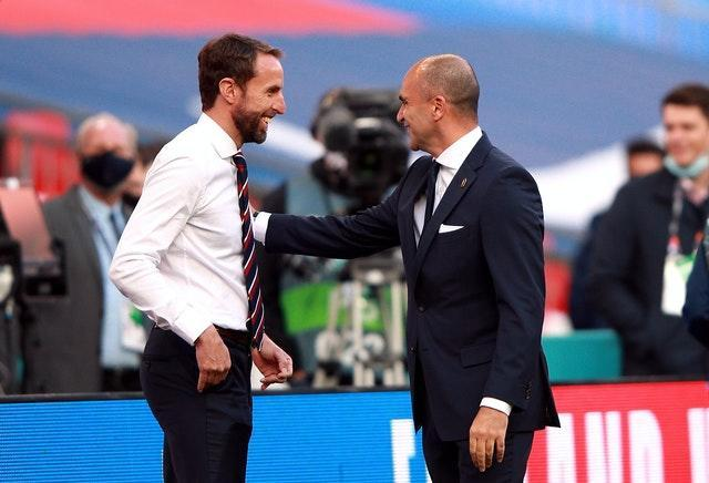 Gareth Southgate and Roberto Martinez face one another again on Sunday