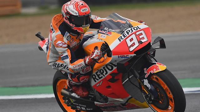 The MotoGP championship is wrapped up for 2019 but Marc Marquez wants to see out the season in style.