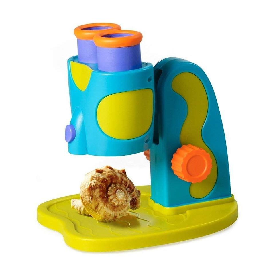 <p>Encourage your little scientist to do some investigating with this <span>Educational Insights GeoSafari Jr. My First Microscope</span> ($22).</p>