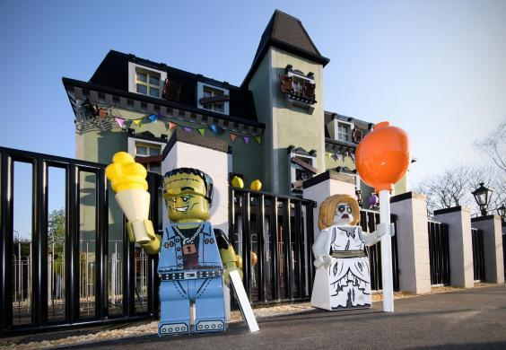 Legoland has a new Haunted House Monster Party ride (Legoland)