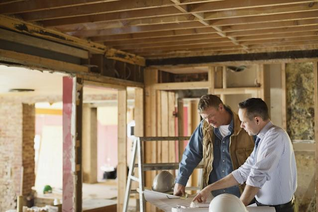 <p>No. 8 least respected: Building contractor<br>Percentage of positive opinions: 54 per cent<br>(Hero Images / Getty Images) </p>