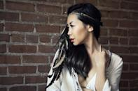 """<p>For an easy, bohemian gypsy look, this feather headband from <a href=""""http://www.spirittribeshop.com/"""" rel=""""nofollow noopener"""" target=""""_blank"""" data-ylk=""""slk:Spirit Tribe"""" class=""""link rapid-noclick-resp"""">Spirit Tribe</a> is a great accessory that can be worn various ways. From New Mexico, the artisan behind this shop hand makes tribal bohemian inspired jewelry, dream catchers, ceremonial pieces and festival wear.</p>"""