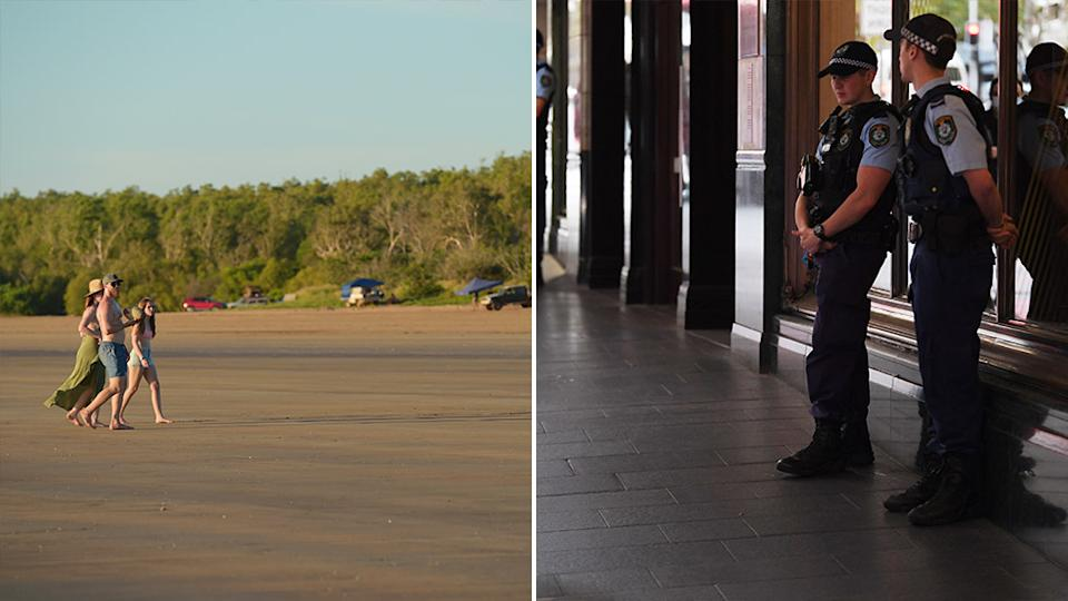 A man broke out of quarantine in the Northern Territory to go do his tax, according to police. Source: AAP