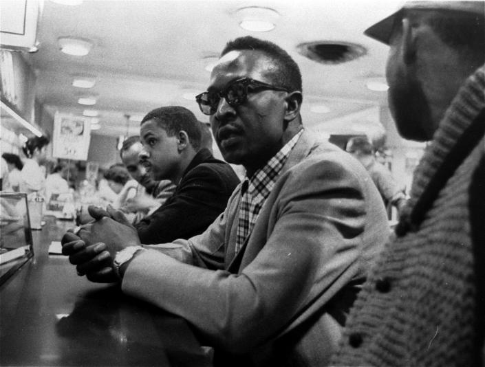Image: Lunch counter Woolworth protest (Greensboro News & Record, AP file)