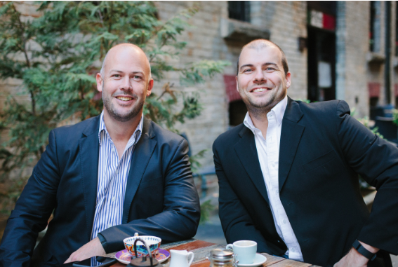 Co-founders Andrew Low and Adam Theobald. Image: Ordermentum