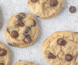 """<p>If you're sick of making bread with your overripe bananas, try this yummy recipe instead and say goodbye to your chocolate chip cookie cravings. They're only 64 calories per serving, to boot.</p><p><strong><em><a href=""""https://erinpalinski.com/high-protein-banana-chocolate-chip-breakfast-cookies-2/"""" rel=""""nofollow noopener"""" target=""""_blank"""" data-ylk=""""slk:Get the recipe from Erin Palinski-Wade »"""" class=""""link rapid-noclick-resp"""">Get the recipe from Erin Palinski-Wade »</a></em></strong></p>"""