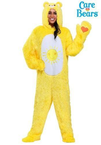 """<p>halloweencostumes.com</p><p><strong>$49.99</strong></p><p><a href=""""https://go.redirectingat.com?id=74968X1596630&url=https%3A%2F%2Fwww.halloweencostumes.com%2Fcare-bears-adult-classic-funshine-bear-costume.html&sref=https%3A%2F%2Fwww.womansday.com%2Fstyle%2Fg22646261%2Fbest-80s-costumes%2F"""" rel=""""nofollow noopener"""" target=""""_blank"""" data-ylk=""""slk:Shop Now"""" class=""""link rapid-noclick-resp"""">Shop Now</a></p><p>If you're looking for a more laidback yet adorable '80s costume idea, this <em>Care Bears</em> jumpsuit is it for you. </p>"""