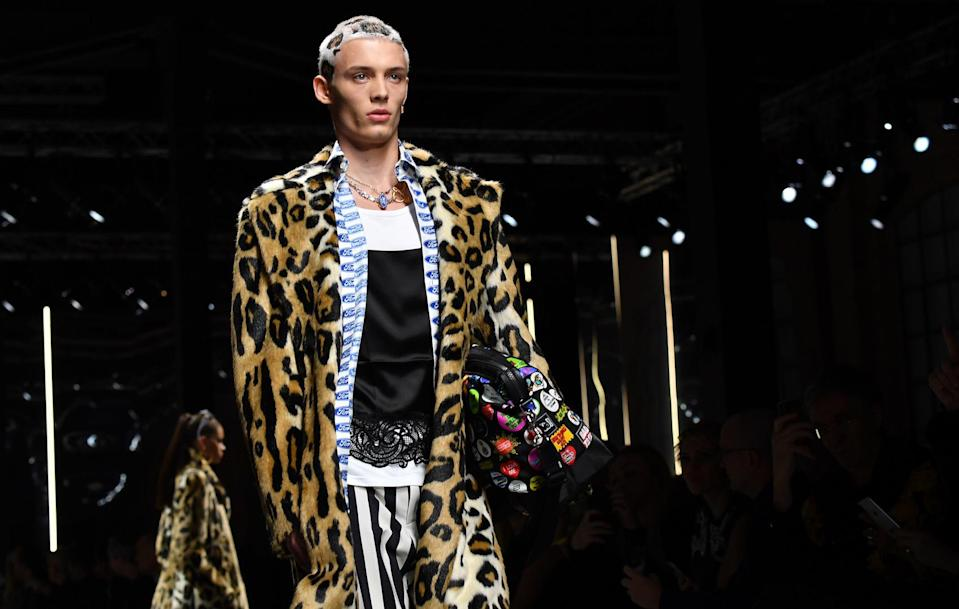 Leopard print is back for another season but this time, it's set to rule over the beauty pack [Photo: Getty]