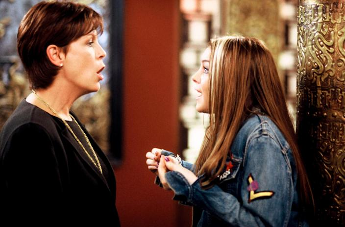 """<p>I saw this movie in theaters with my mom, so it holds sentimental value for us. But that aside, it's a funny, heartwarming film that quite literally shows you why you should appreciate your mom—and parents in general. (Lindsay Lohan and Jamie Lee Curtis play a contentious mother-daughter duo who switch bodies and from the experience grow to understand each other better than ever.) —<em>Christopher Rosa, entertainment editor</em></p> <p><a href=""""https://cna.st/affiliate-link/2rvbHH828PKbNCvBdbtL1aBwmEmNEEBeC9KBCnVqJBq4x56MYFJRc3oScQr8PQ9GYYifax7vhY5hxfUUgQ6ZMMiu7PPBXPybSkjRjCJF9sr9Vbarr5QihBfeuV?cid=6092f5ce33a7f89d98a1e2f7"""" rel=""""nofollow noopener"""" target=""""_blank"""" data-ylk=""""slk:Stream it on Disney+"""" class=""""link rapid-noclick-resp""""><em>Stream it on Disney+</em></a></p>"""
