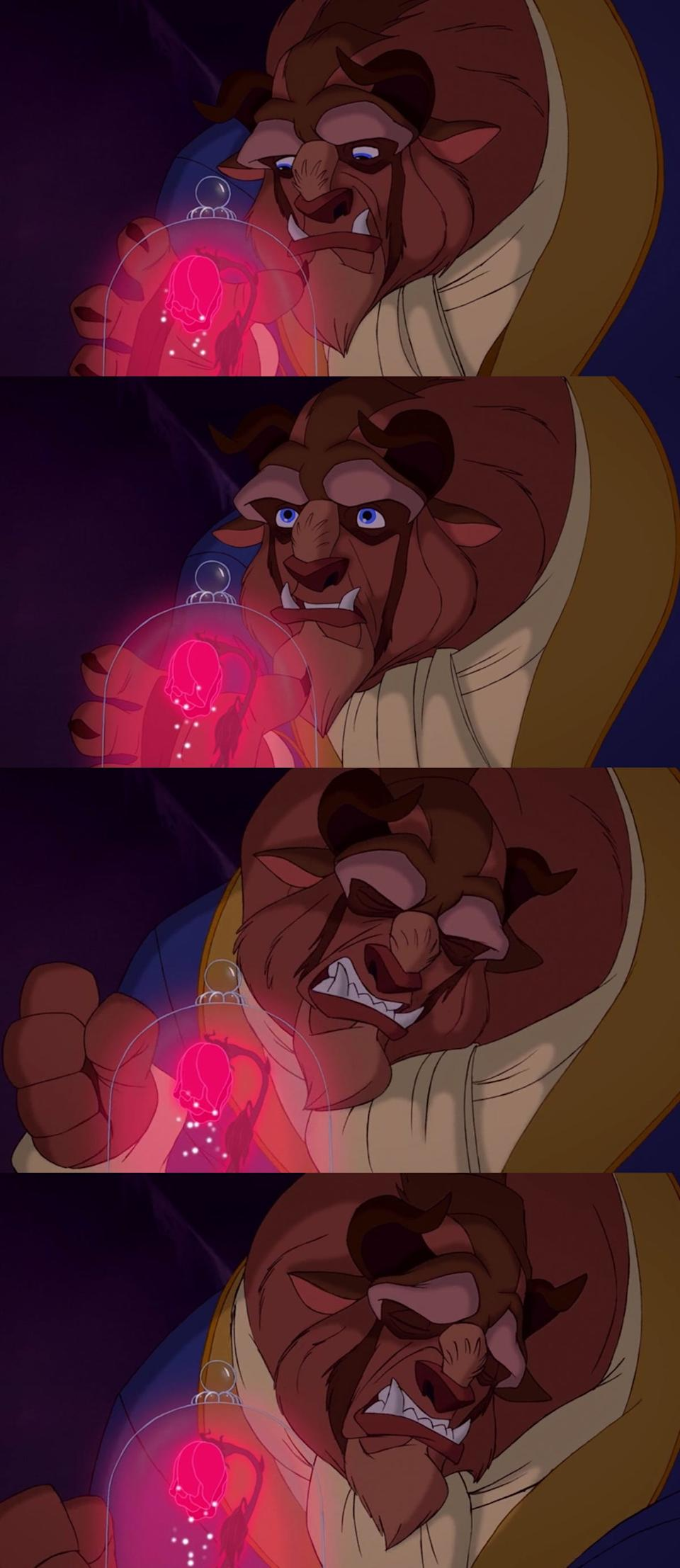 beast beauty and the beast lets belle go