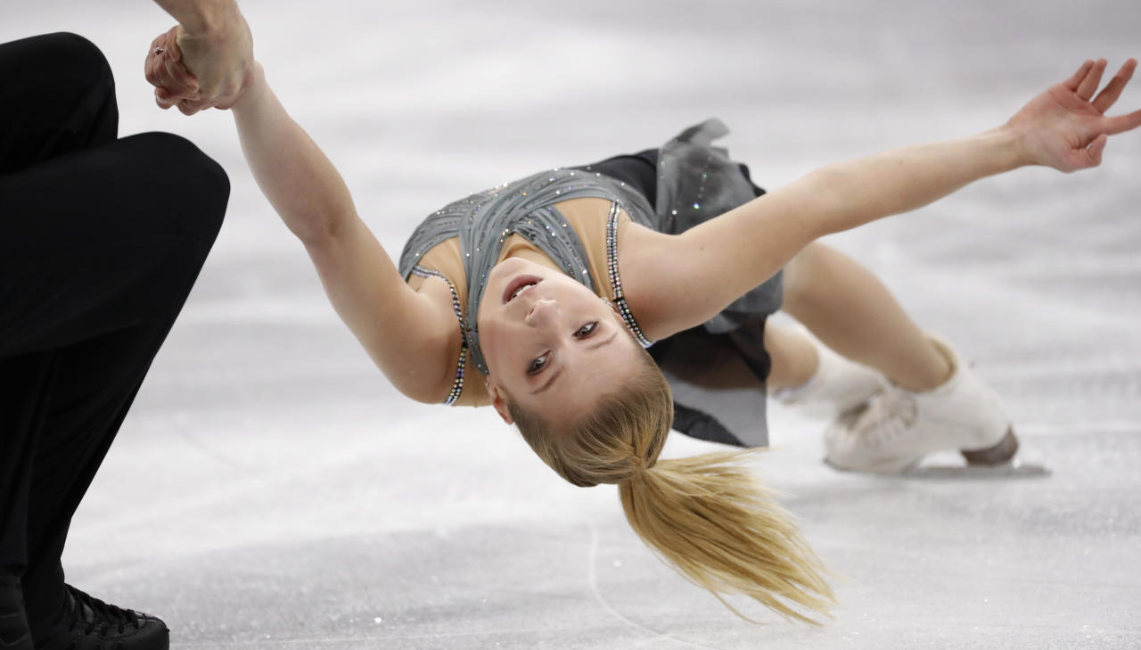 Olympic figure skater and former world champion Ekaterina Alexandrovskaya died on Friday in Moscow after falling out of a sixth-floor window. Born in Russia, Alexandrovskaya obtained Australian citizenship and won the junior world title in Japan in 2017 with partner Harley Windsor, the first Australian skaters to win an International Skating Union Championship title. Alexandrovskaya retired from the sport in February shortly after she was diagnosed with epilepsy. She was 20.