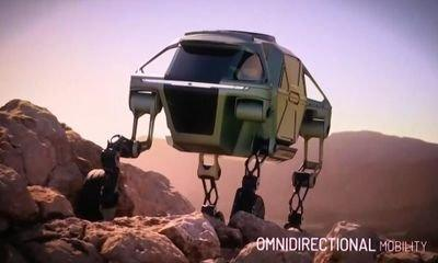 Walking car that could save lives in disaster zones unveiled