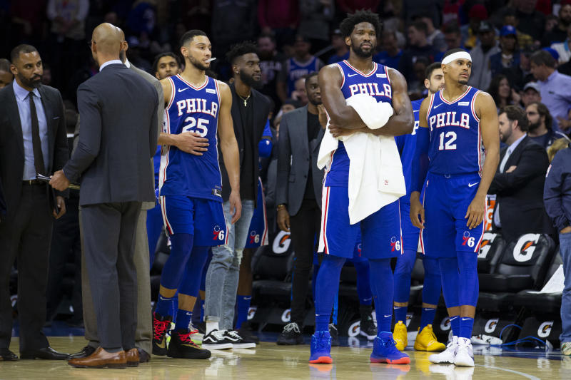 The Philadelphia 76ers have more talent than anyone in the East, but is it the right mix of talent? (Mitchell Leff/Getty Images)