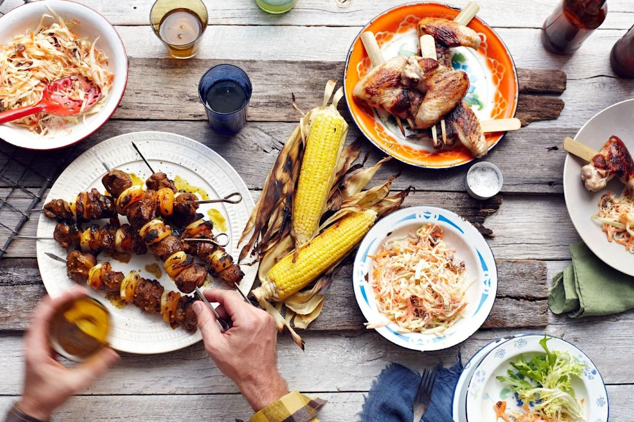 "<p>If you want to prevent a <a rel=""nofollow"" href=""http://www.delish.com/cooking/g1523/summer-bbq-salads/"">barbecue</a> from going bad, never (let us repeat: NEVER) serve any of these dishes.</p>"