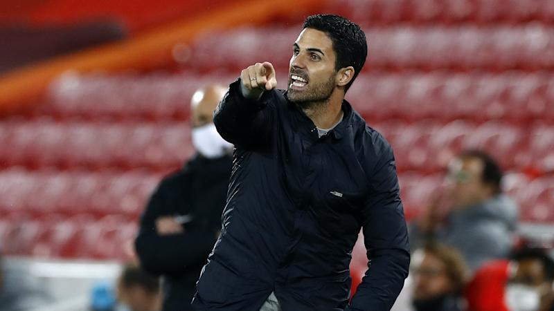 Liverpool are the level we have to reach, says Arsenal boss Mikel Arteta