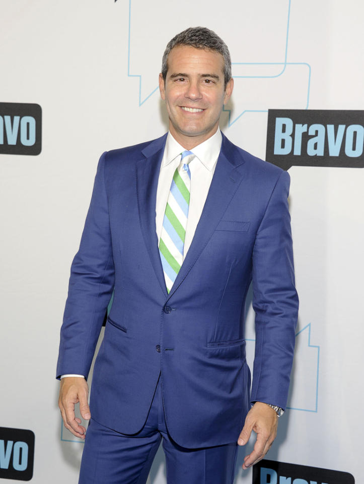 Andy Cohen attends Bravo's 2012 Upfront Event at Center 548 on April 4, 2012 in New York City.