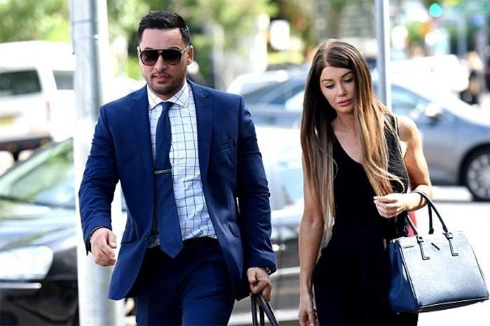 Aysha Mehajer as applied for an apprehended violence order against Salim Mehajer. Photo: AAP