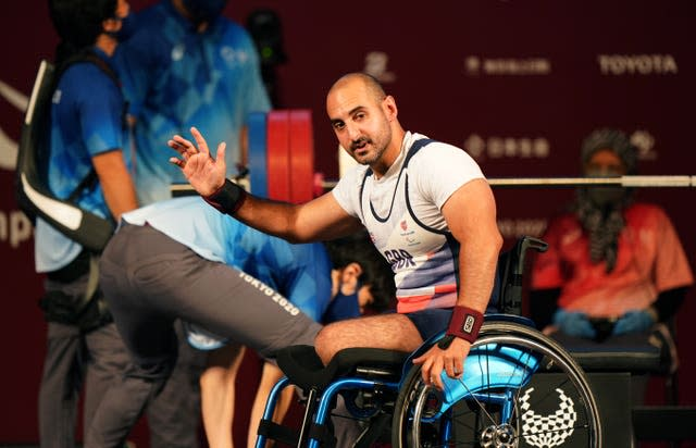 Great Britain's Ali Jawad was appearing at his fourth Paralympics