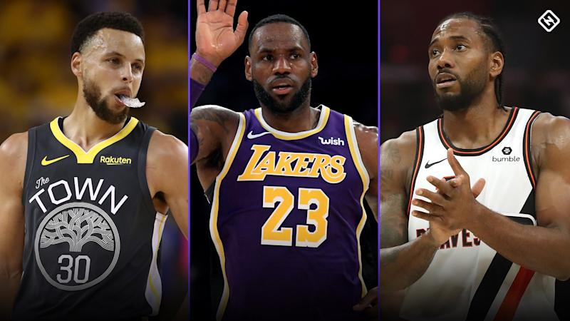 Sporting News' NBA All-Decade team for the 2010s