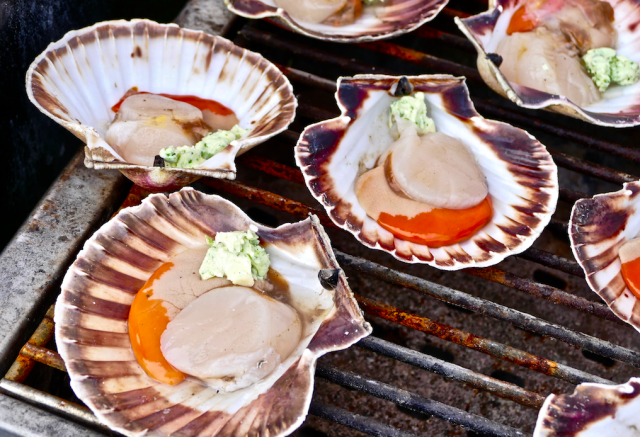 <em>The dispute is over a scallop-rich area of the Channel that French fishermen are prevented from harvesting due to domestic environmental laws (Rex)</em>