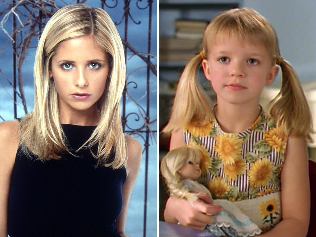 "No doubt it would be very difficult to find a child actress with similarly sharp features as Sarah Michelle Gellar. Apparently, it was impossible. The only resemblance between the young Buffy in Season 5's ""Weight of the World"" and her older self is their hair color."
