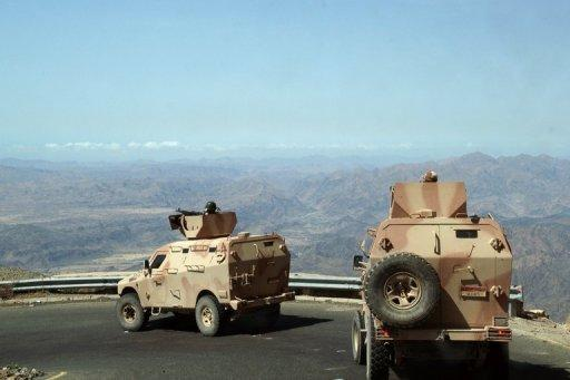 Yemeni army military vehicles patrol Loder, where they fight against Al-Qaeda militants, in April 2012. The double agent who infiltrated Al-Qaeda and helped foil a plot to blow up a US-bound airliner held a British passport in addition to being a Saudi national, CNN reported