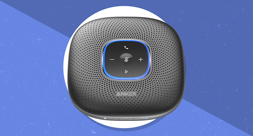 Save nearly 25 percent on this Anker PowerConf Bluetooth Speakerphone. (Photo: Anker)